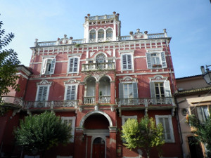 Lanciano - The captain's building
