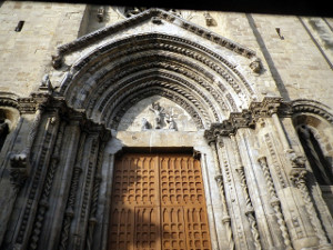 Lanciano - Church of Santa Maria Maggiore - The portal